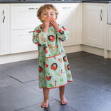 Tidy Tot Long Length Coverall Bib in Pistachio