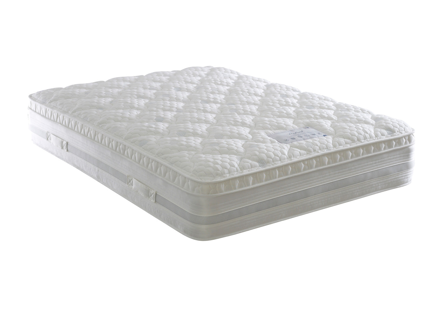 Oxford 1000 Pocket Sprung And Memory Foam Pillow Top Mattress (Medium firm)