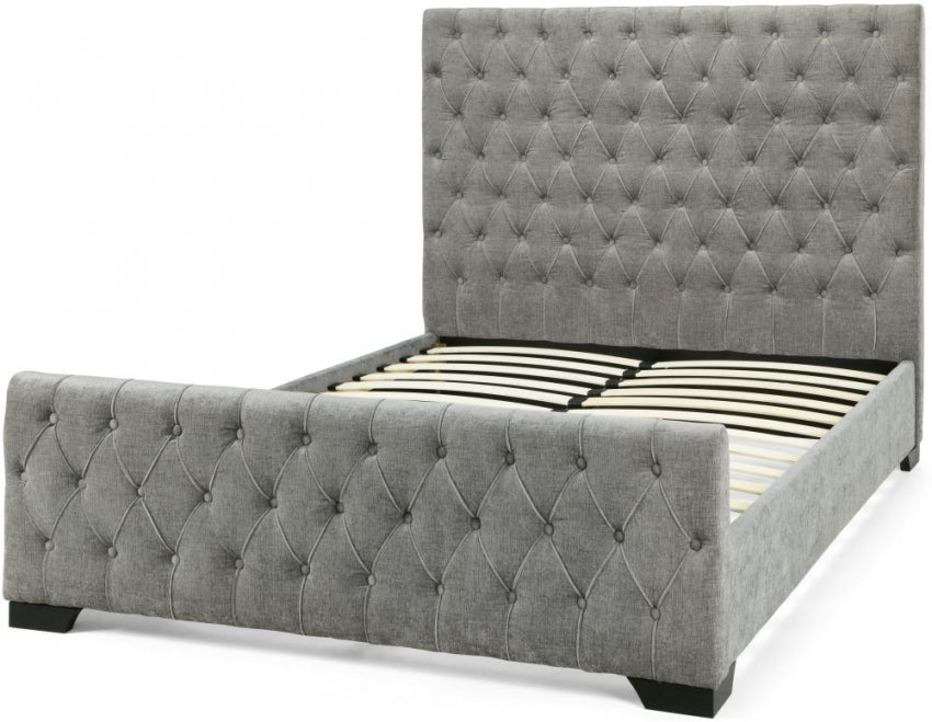 Lillian Steel Fabric Bed