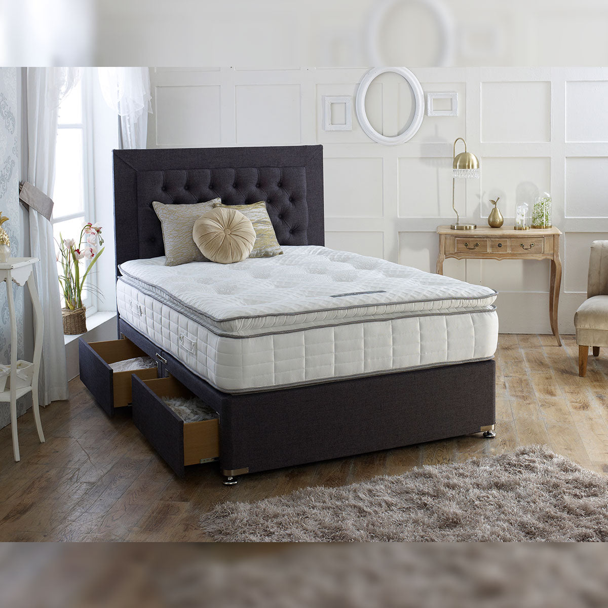 Calgary 1000 Pocket Pillow Top Style Mattress