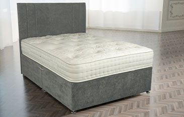 Chelsea 2000 Pocket Sprung Wool Cashmere Silk Sumptuous Fabric Hand Tufted Mattress Available In Medium Medium Firm Or Firm Comfort
