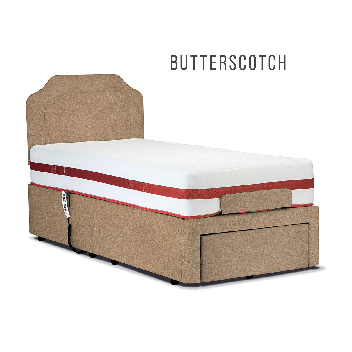 "Sherborne 2'6"" Dorchester Fixed Bed"