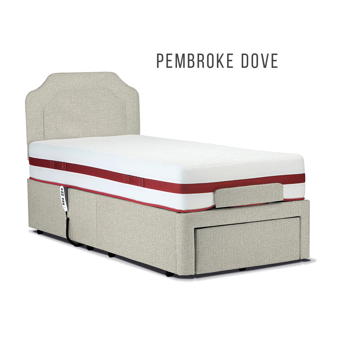 Sherborne 6' Dorchester Head and Foot Adjustable Bed