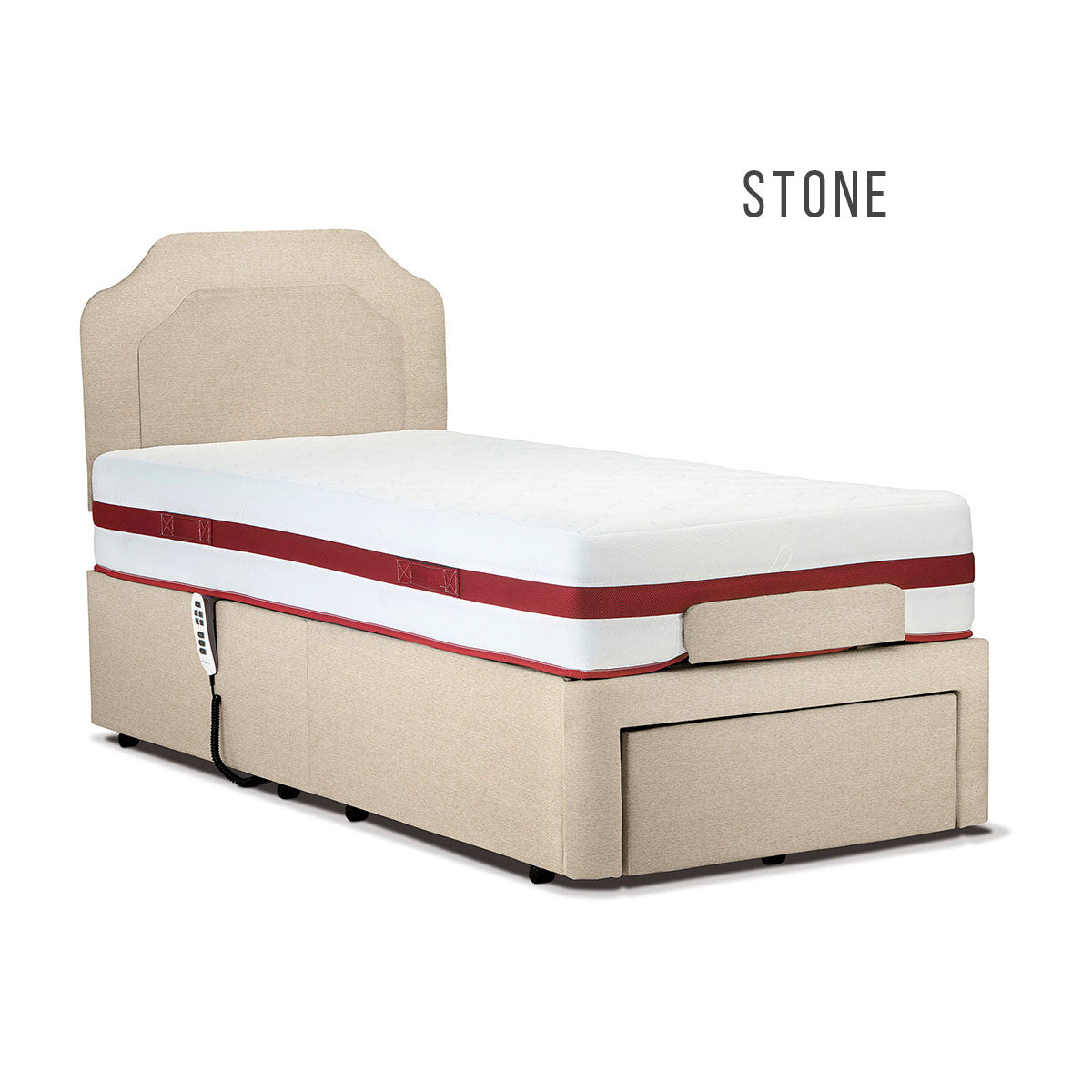 Sherborne 4' Dorchester Head and Foot Adjustable Bed