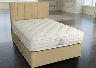 Duke 1000 Gel Micro Quilted Divan Bed Set European Sizes Available