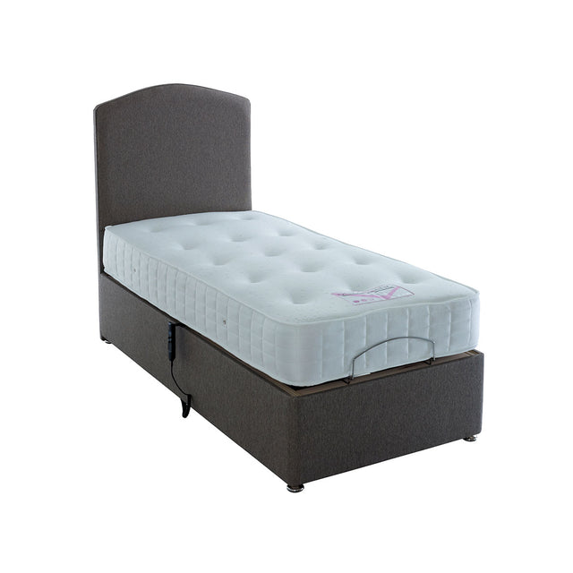 Health Therapy 1000 Pocket Sprung Electric Divan Bed Mattress Included
