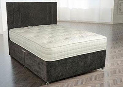 Fairmont 1000 Pocket Natural Divan Bed Set European Sizes Available