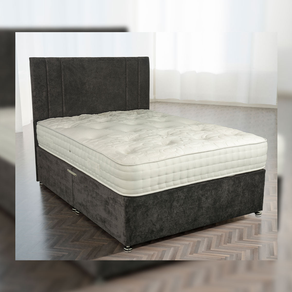 Fairmont 1000 Pocket Natural Mattress Available In Medium Medium Firm And Firm Comfort