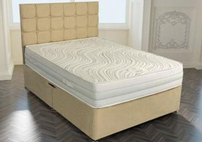 Grosvenor 1000 Pocket Gel Encapsulated Divan Bed Set European Sizes Available
