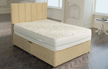 Knightsbridge 1500 Pocket Gel And Memory Foam Encapsulated Mattress Available in Medium Medium Firm Or Firm Comfort