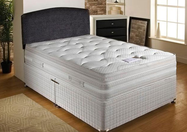Panache Divan Set (Mattress = Firm, Depth 33 cm)