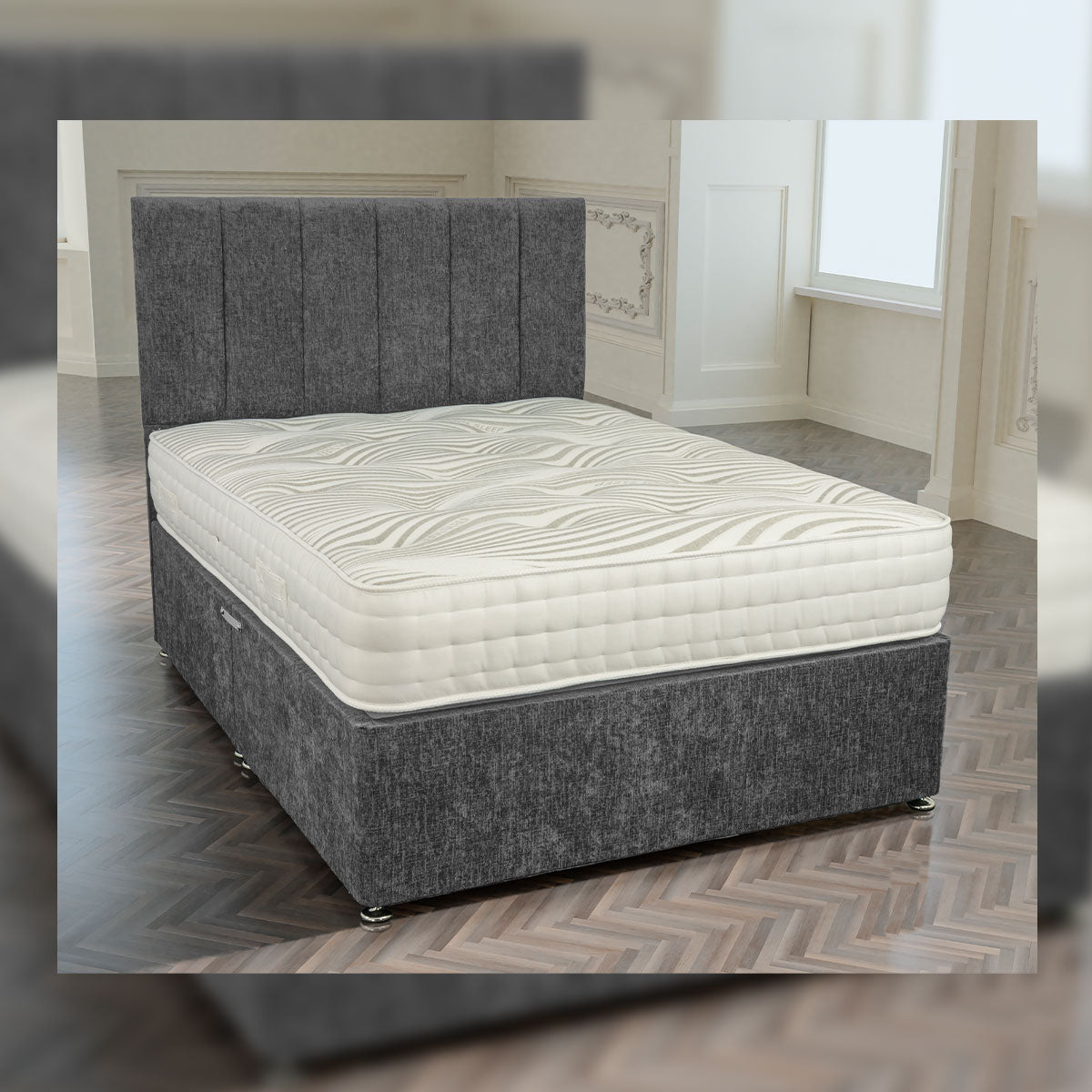 Richmond 2000 Pocket Cool Cotton Mattress Available In Medium Medium Firm And Firm Comfort