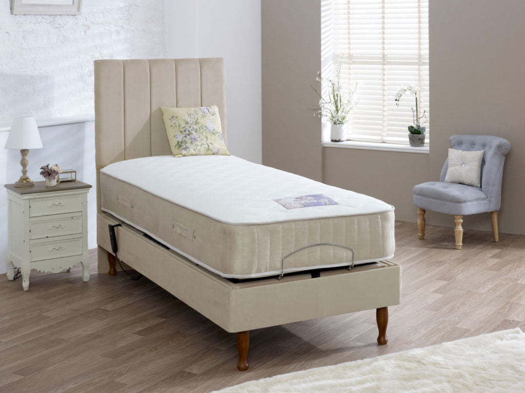 HEALTH THERAPY TOULOUSE ELECTRIC 5 MOTION FULLY ADJUSTABLE BED MATTRESS INCLUDED