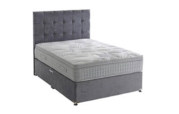 Savoy Divan Bed Set (Mattress = Medium, Depth 34 cm)