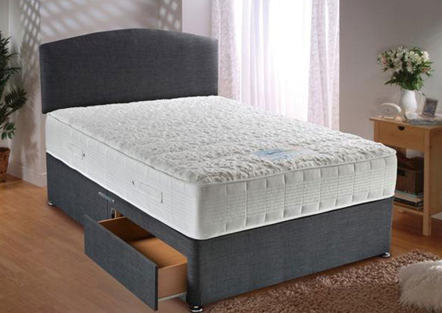 Sensacool 1500 Pocket Sprung Divan Bed Set (Mattress = Firm)