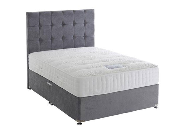 Tencel Pocket 1000 Divan Bed Set (Mattress Depth 28cm = Medium Support)
