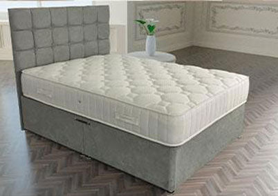 Memory Supreme Orthopaedic Divan Bed Set European Sizes Available
