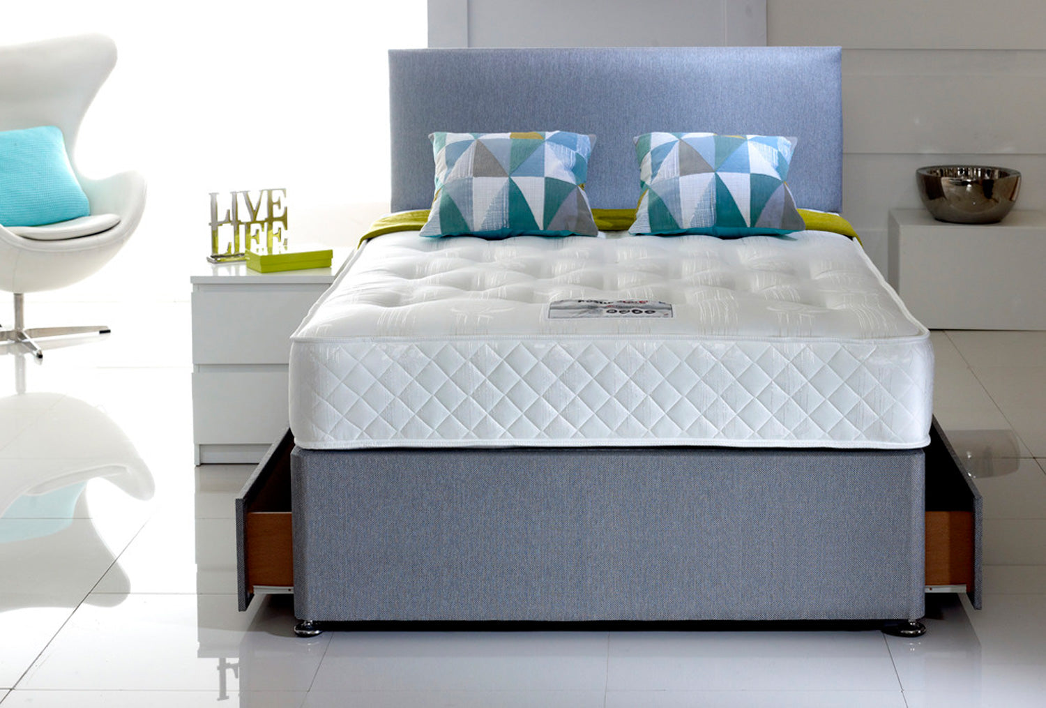 Posturecare 2000 Divan Set (Firm)