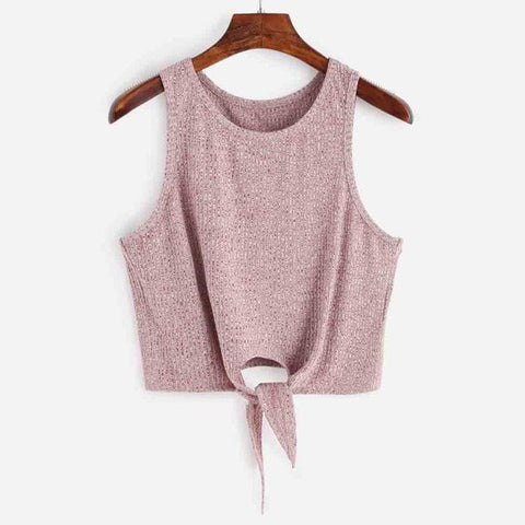 2017 Spring Summer T-shirt Womens Sexy Sleeveless Knitting Cotton blend Off Shoulder Tank Crop Tops Vest Shirt