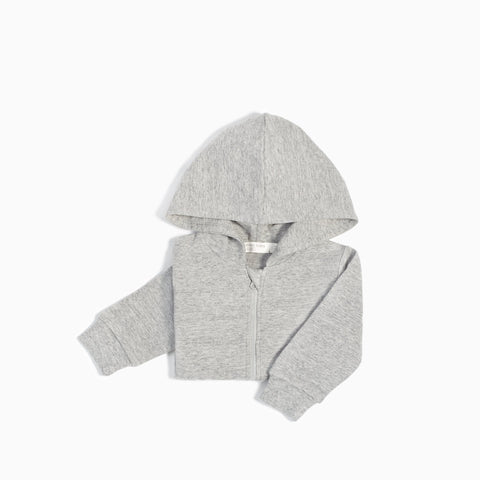 Sweat à Capuche « Miles Basic » Gris Chiné