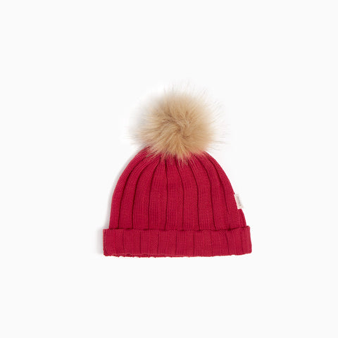Tuque « Club de Ski » Rouge