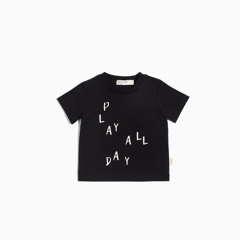T-Shirt « Miles Basic » Noir Play All Day