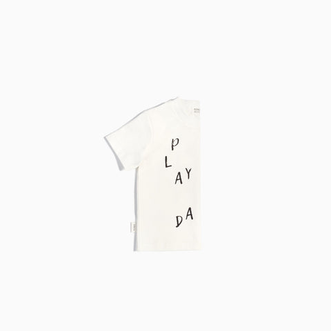 T-Shirt « Miles Basic » Blanc Play All Day