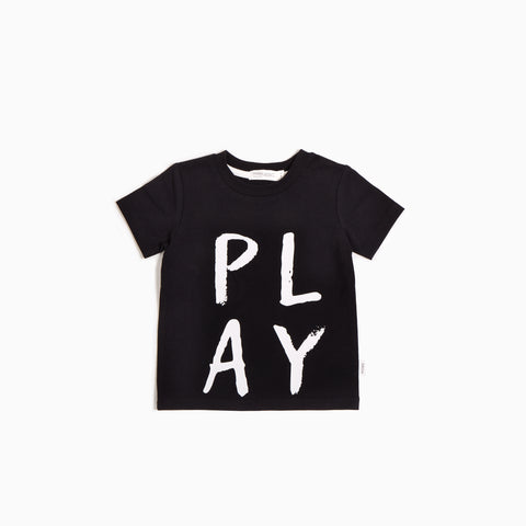 T-Shirt « Miles Basic » Noir Play