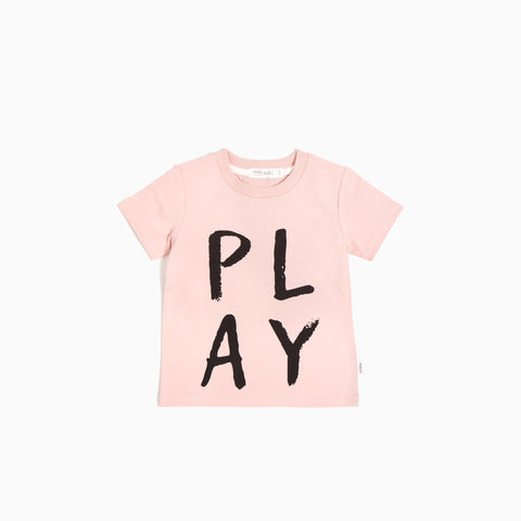 T-Shirt « Miles Basic » Rose Play