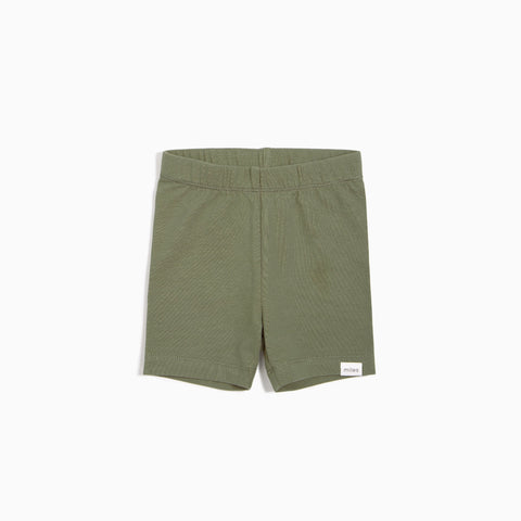 Short cycliste vert olive
