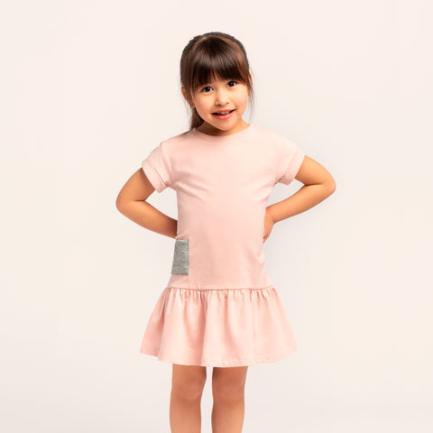 Robe « Miles Basic » Rose