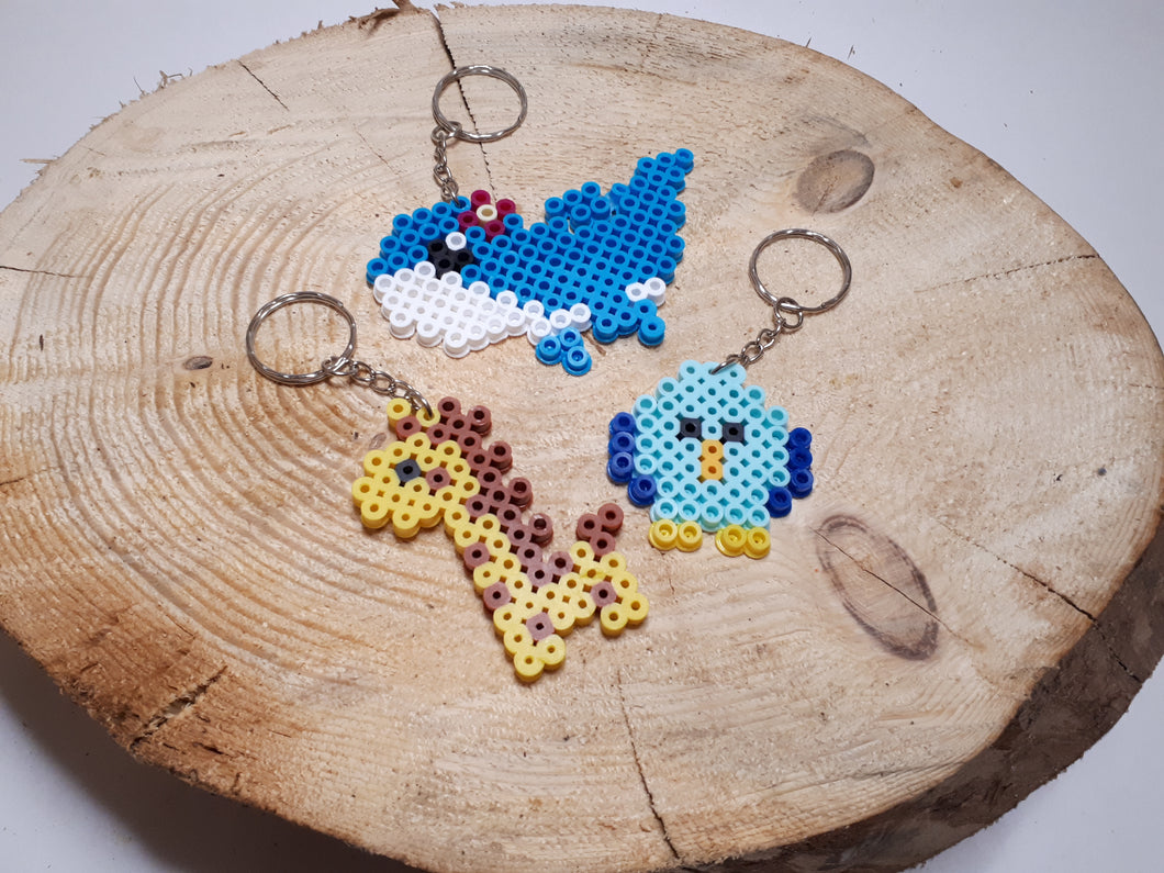 Beaded Key chain by Jayden
