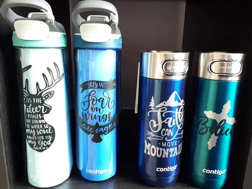 Water bottles and Tumblers