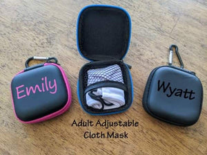 Clip-on Travel Mask Case