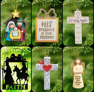 Faith Based Ornament