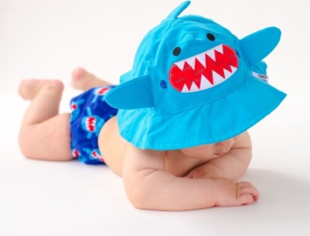 Zoocchini UV Sun Hat & Swim Diaper Set