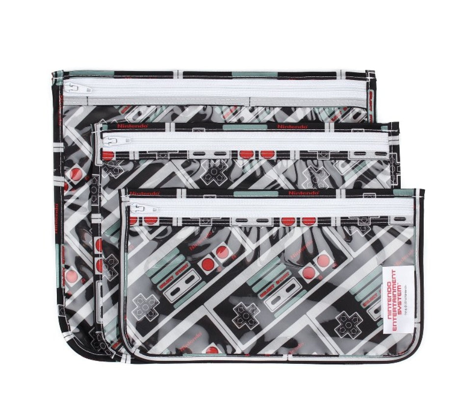 Clear Travel Bags - 3 pack