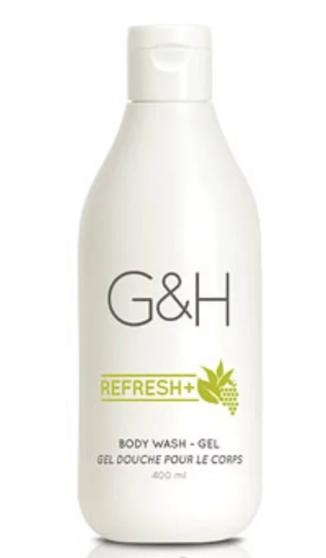G & H Refresh+ Body Wash Gel