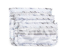 Clear Travel Bags 3 pack Recycled