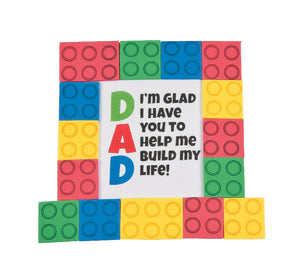 Dad Brick Craft Kit