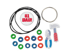 Beaded Dad Tool Key Chain Craft Kit