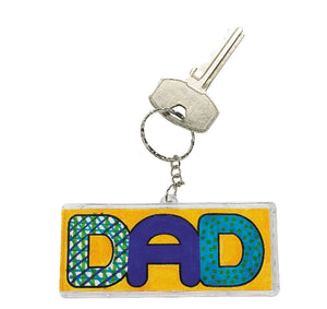 DIY Dad key chain