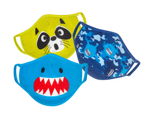 Zoocchini Organic Reusable Masks 3 pack