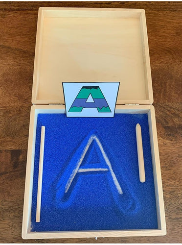 Sand Tray (letter tracing kit)