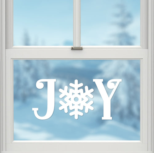 Wall/window Decal - Joy