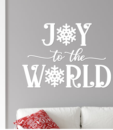Wall/Window Decal - Joy to the World