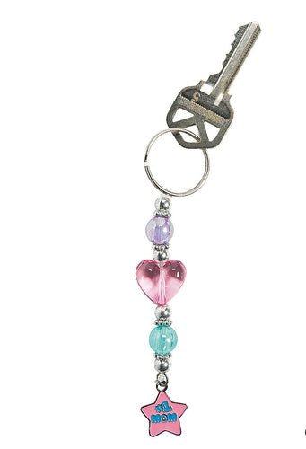 Beaded Mom DIY keychain kit