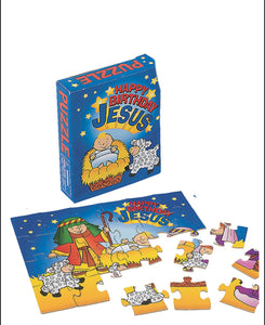 Happy Birthday Jesus puzzle