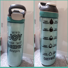 Water Bottle with Tracker