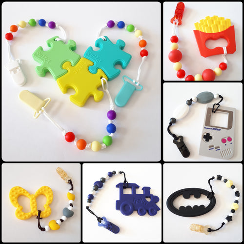 Teether & Clip